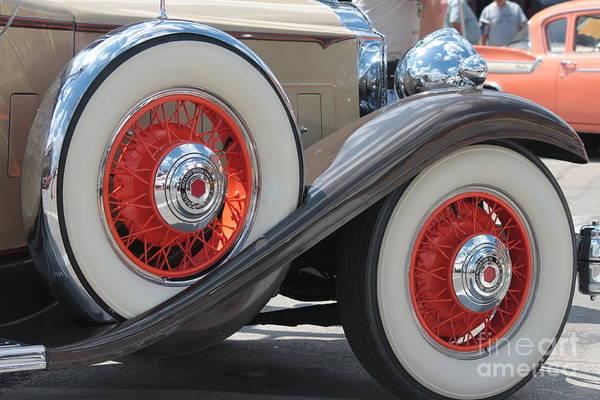 Wall Art - Photograph - Antique Packard Motor Car by Eric Irion