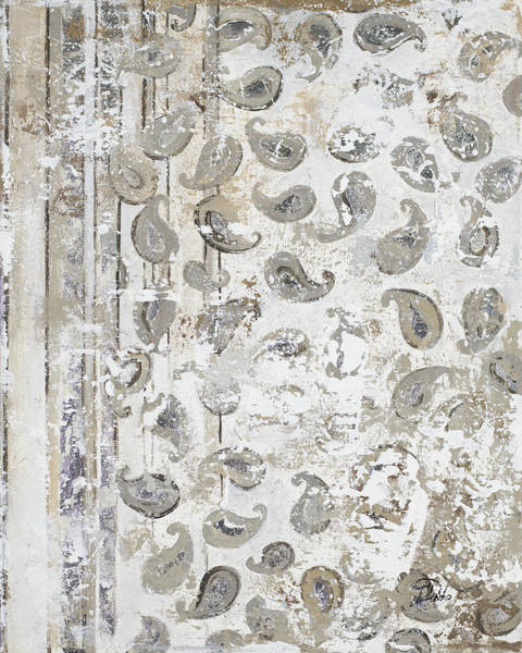 Wall Art - Painting - Antique Paisley by Patricia Pinto