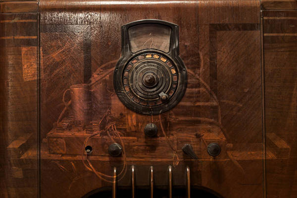 Wall Art - Photograph - Antique Philco Radio Model 37 116 Merge by Thomas Woolworth
