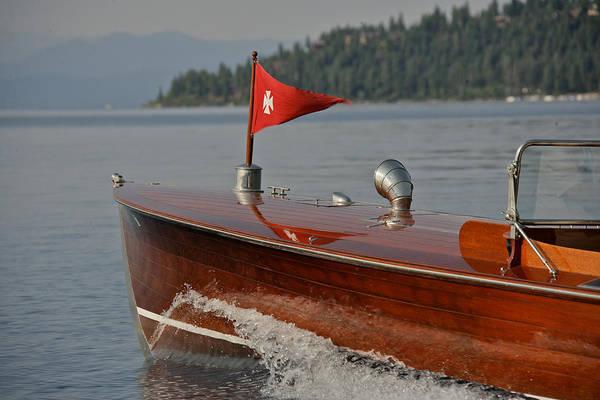 Photograph - Antique Raceboat by Steven Lapkin