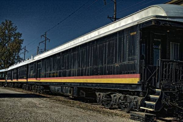Photograph - Antique Railroad Pullman Freight Cars by Tim McCullough