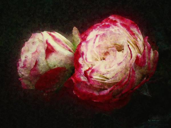 Painting - Antique Romance by RC DeWinter