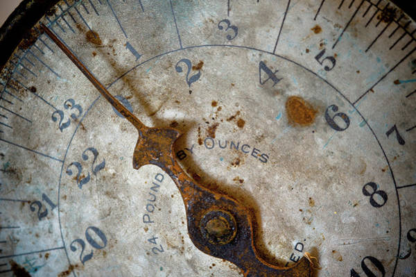 Photograph - Antique Scale by Sebastian Musial