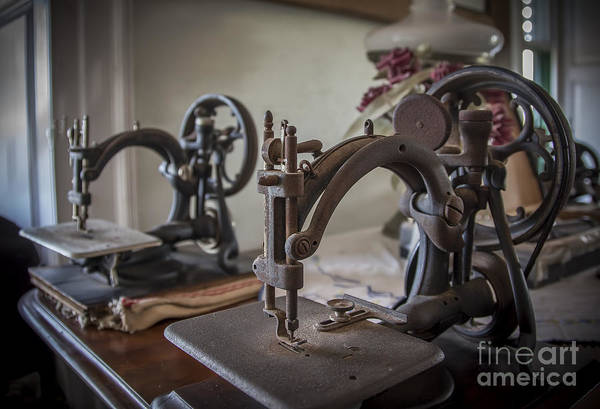 Photograph - Antique Sewing Room by Ken Johnson