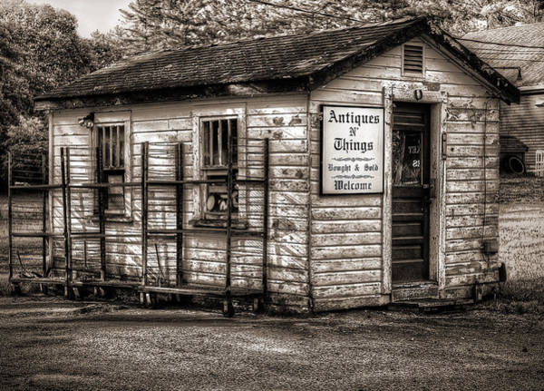 Living Things Photograph - Antique Shop by Rick Mosher