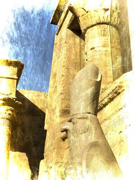 Photograph - Antique Study Of Horus by Brenda Kean