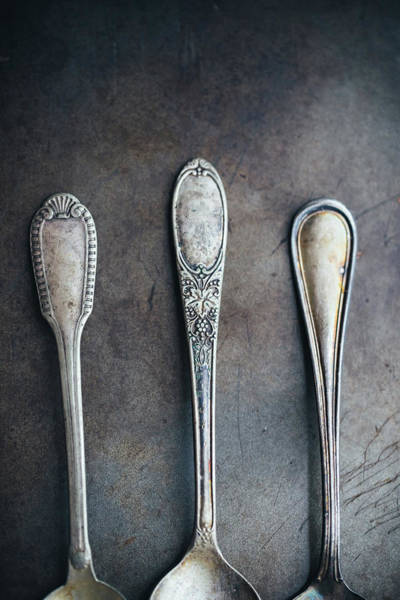Antique Utensils Art Print