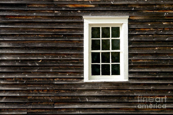 Wood Siding Wall Art - Photograph - Antique Window by Olivier Le Queinec