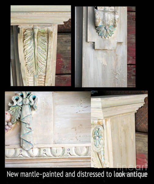 Painting - Antiqued Mantle by Lizi Beard-Ward