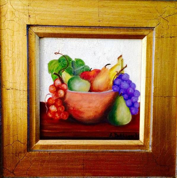 Painting - Antiqued Still Life by Susan Dehlinger