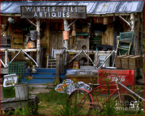 Photograph - Antiques by Alana Ranney