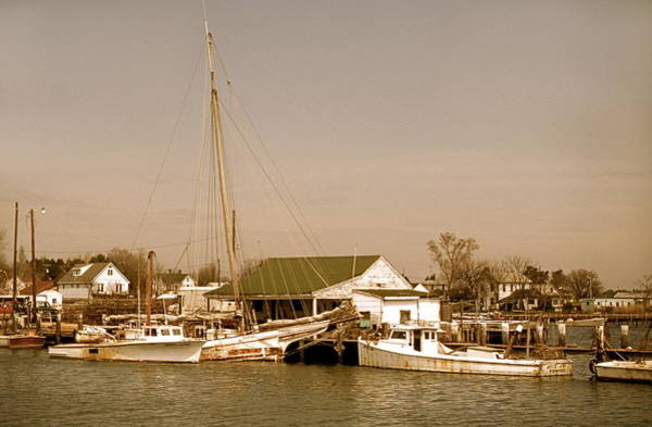 Skipjack Wall Art - Photograph - Antiques At Deal Island by Skip Willits