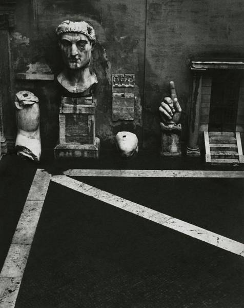 Italy Photograph - Antiquities At Capitoline Museum by Robert Randall