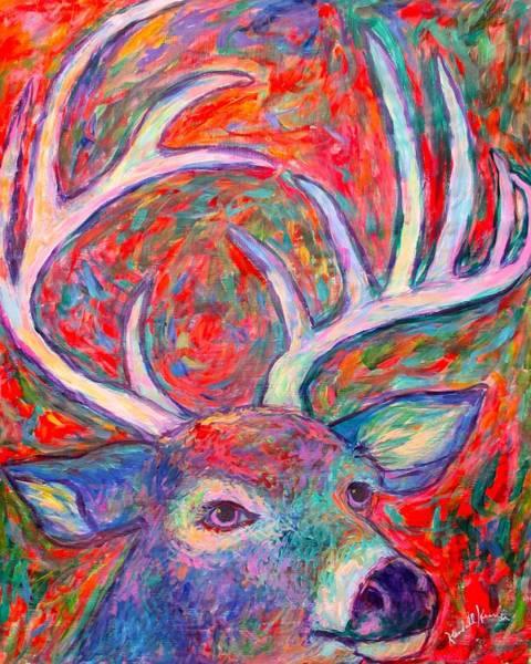 Painting - Antler Swirl by Kendall Kessler