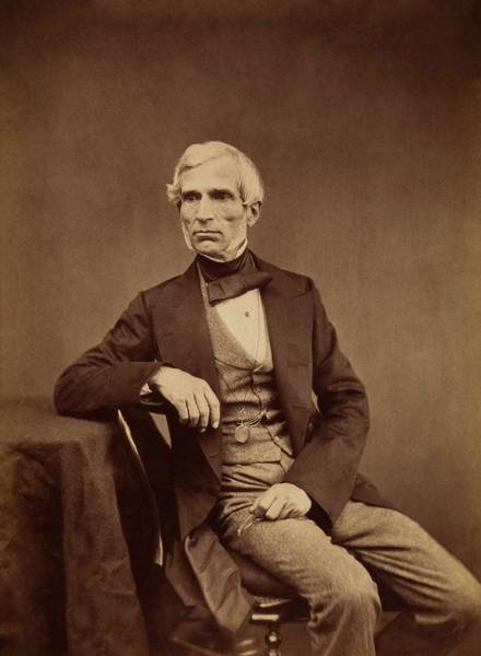 Daguerrotype Photograph - Antoine Claudet by Royal Institution Of Great Britain / Science Photo Library