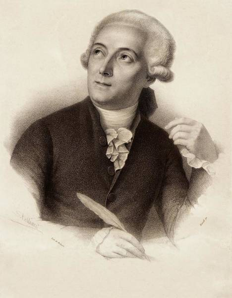 Photograph - Antoine Lavoisier by Gregory Tobias/chemical Heritage Foundation
