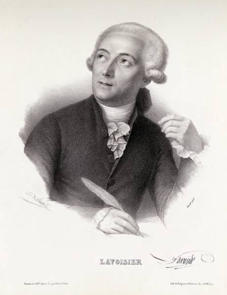 Wall Art - Photograph - Antoine Lavoisier by Royal Institution Of Great Britain / Science Photo Library