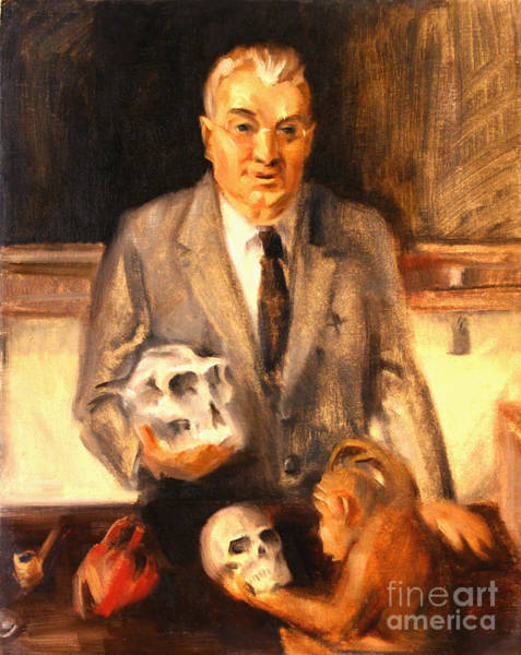Painting - Anton J. Carlson by Art By Tolpo Collection
