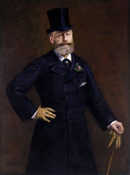 Wall Art - Painting - Antonin Proust by Edouard Manet