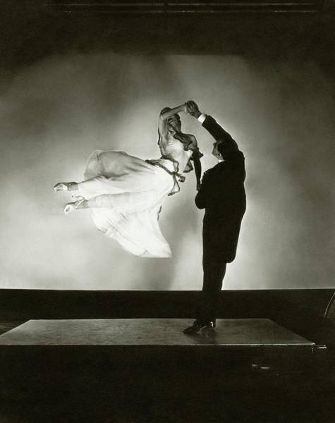 Male Photograph - Antonio And Renee De Marco Dancing by Edward Steichen