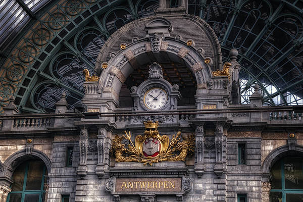 Photograph - Antwerp Central by Joan Carroll