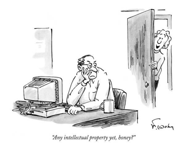 Any Intellectual Property Yet Art Print