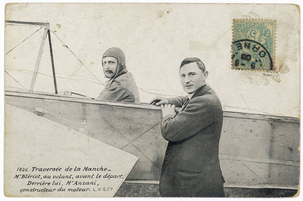 Bleriot Photograph - Anzani, Who Built Bleriot's  Motor by Mary Evans Picture Library