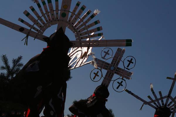 Folk Dances Photograph - Apache Dancers by Joe Kozlowski