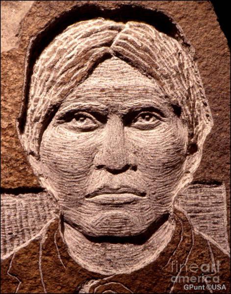 Sculpture - Apache-kid by Gordon Punt