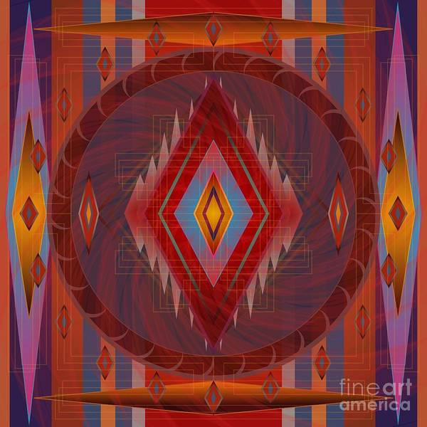 Digital Art - Apache Wind 2012 by Kathryn Strick
