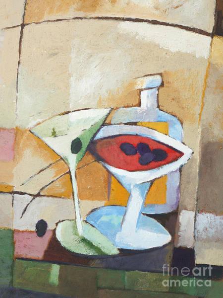Painting - Aperitif by Lutz Baar