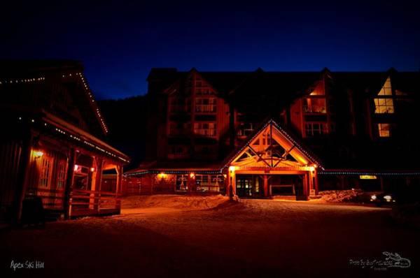 Apex Mountain Ski Village Art Print