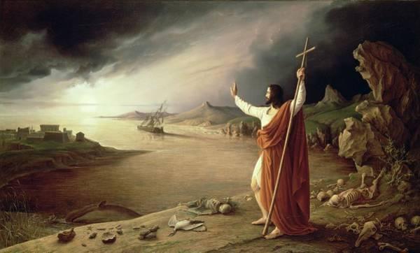 Wall Art - Painting - Apocalypse, 1831 by Ludwig Ferdinand Schnorr von Carolsfeld