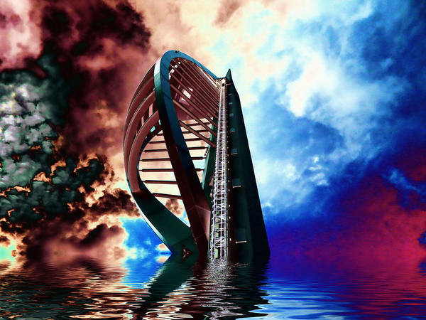 Spinnaker Photograph - Apocalyptic Spinnaker by Sharon Lisa Clarke