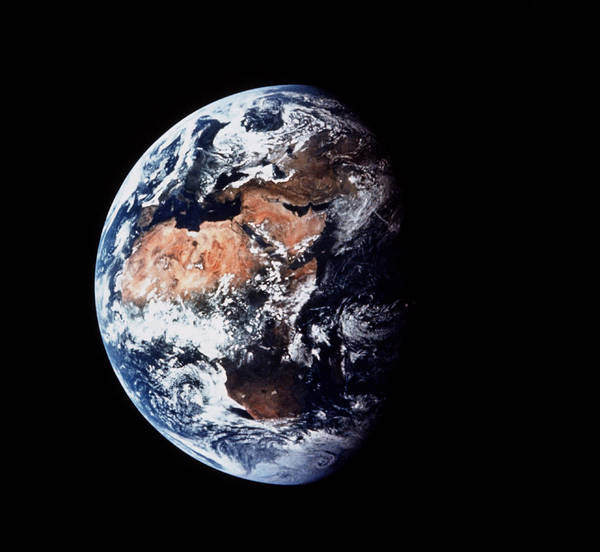 Wall Art - Photograph - Apollo 11 Image Of The Earth by Nasa/science Photo Library