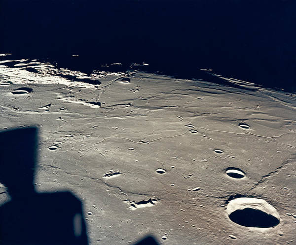 Wall Art - Photograph - Apollo 11 Landing Site 2 by Underwood Archives