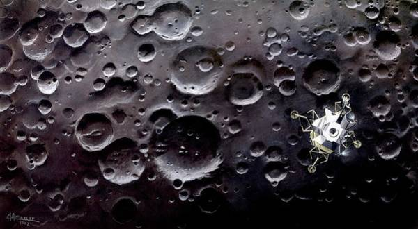 Module Wall Art - Photograph - Apollo 11 Lunar Module by Mark Garlick/science Photo Library
