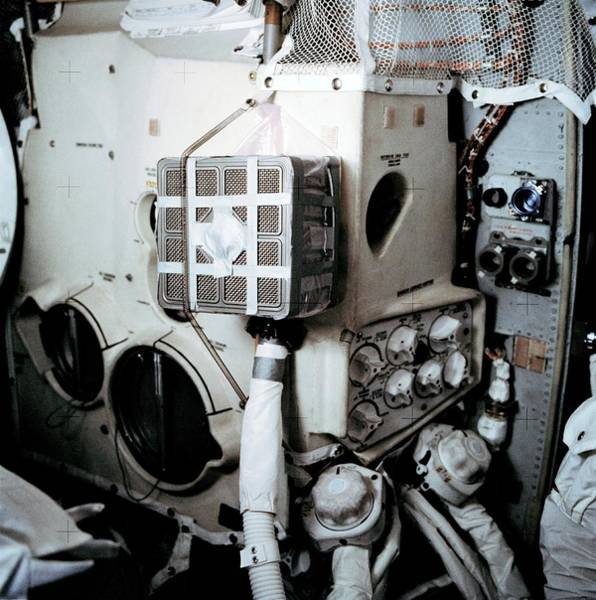 Mailbox Photograph - Apollo 13 Lunar Module Mailbox by Nasa/science Photo Library