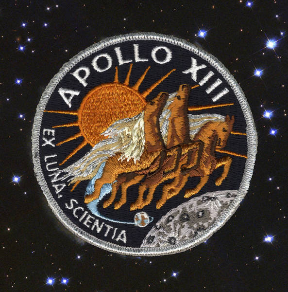 Photograph - Apollo 13 - Houston We Have  A Problem by Paul W Faust -  Impressions of Light