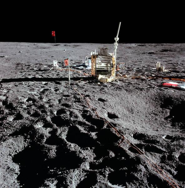January Photograph - Apollo 14 Photo Of Alsep by Nasa
