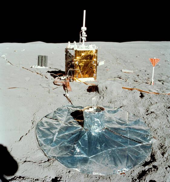 1972 Photograph - Apollo 16 Alsep Equipment by Nasa