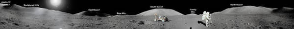 Photograph - Apollo 17 Station by Celestial Images