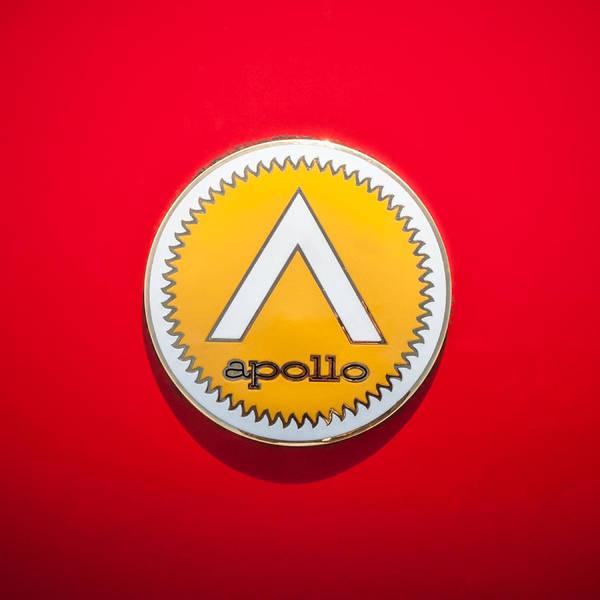 Photograph - Apollo 5000 Gt Emblem -0304c by Jill Reger