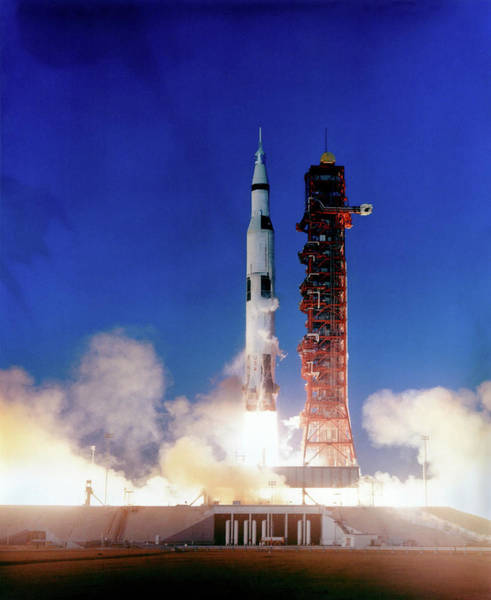 Wall Art - Photograph - Apollo 8 Launch by Nasa/science Photo Library