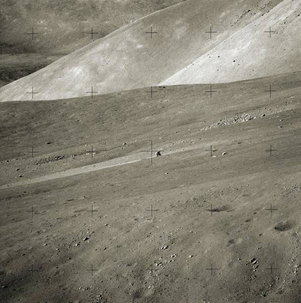 1972 Photograph - Apollo Challenger On The Moon by Nasa/detlev Van Ravenswaay