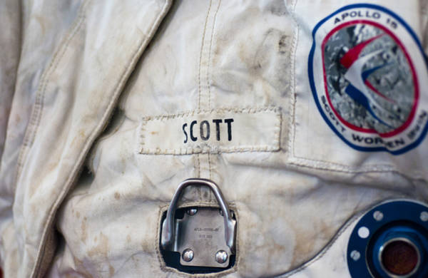 Photograph - Apollo Lunar Suit by Christi Kraft