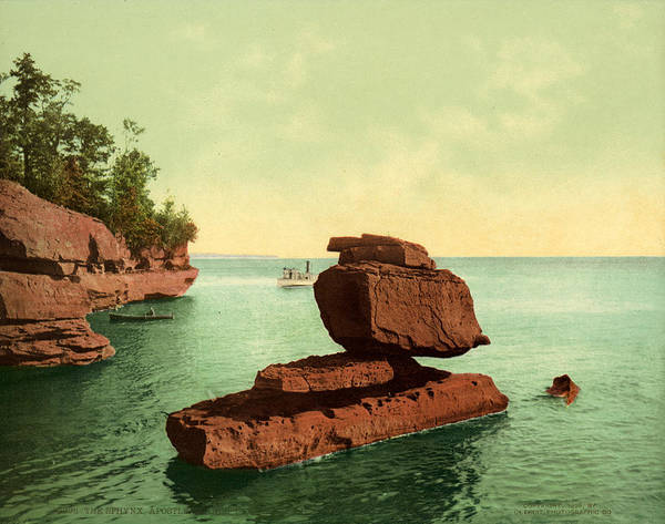 Wall Art - Painting - Apostle Islands Sphinx by Granger
