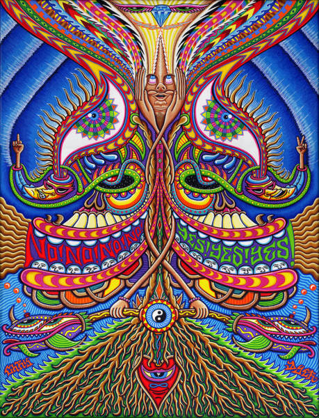 Salvador Dali Painting - Apotheosis by Chris Dyer