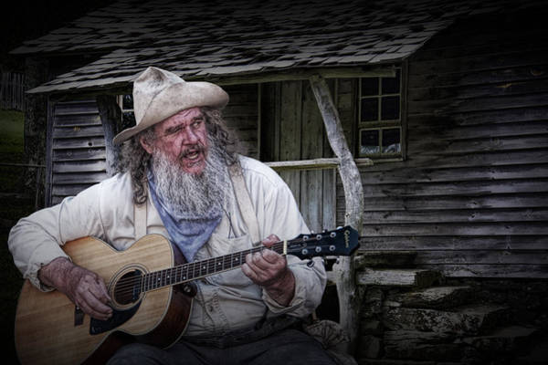 Photograph - Appalachia Finger Picking Guitar by Randall Nyhof