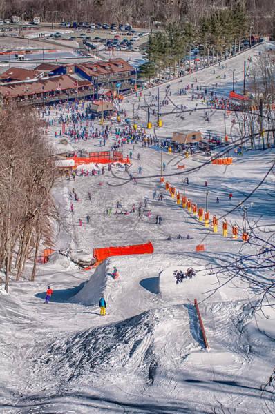 Photograph - Appalachian Mountain Ski Resort Near Blowing Rock by Alex Grichenko